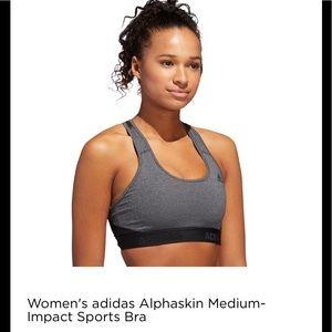 Adidas medium-impact sports bra